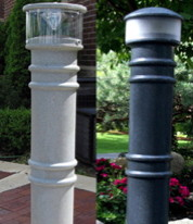 Bollard Covers - Lighted