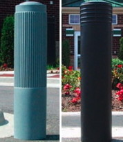 steel pipe bollards, stainless steel bollards, bollard covers