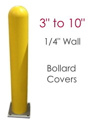 "Image for Bollard Covers - 1/4"" wall - 3 to 10 inch diameters"